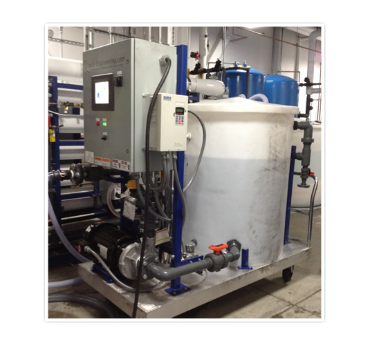 CIP Portable Skid